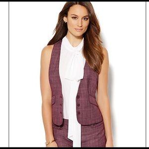 New York & Co 7th Ave suit vest. Size 12.